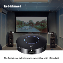 kebidumei Mini 1080P HD+AV Output Q1 RK3036 Dual Mirroring Dongle 150Mbps 2.4GHz Wifi Display Receiver HDMI Android TV Stick(China)