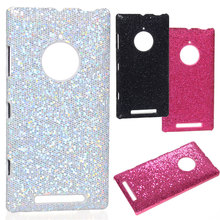 2015 Sexy Lady Luxury Shiny SEXY Girl night party Glitter football Skin Anti-slip for Nokia Lumia 830 Protector shell back cover