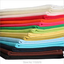 Solid Color Cotton Linen Fabric Meter Garment Cloth Tablecloth Background DIY Home Decorative Textile Cloth Sewing Tissu 2008BL