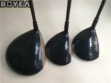 Brand New 3PCS Boyea MP900 Wood Set Golf Woods Golf Clubs Driver + Fairways Regular/Stiff-Flex Graphite Shaft With Head Cover
