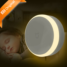 Original Xiaomi Mijia LED Corridor Night Light Infrared Remote Control Human Body Motion Sensor Xiaomi Smart Home Night Light(China)