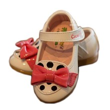 High quality summer sandals children's girls shoes sweet soft lace toddler prewalker shoes bow kids single shoes