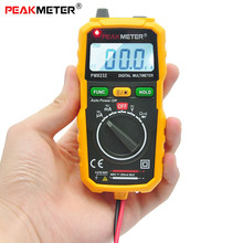 PEAKMETER PM8232 Portable High Precision Non-contact Digital Multimeter DC AC Voltage Current Capacitance Mini Safety Tester(China)