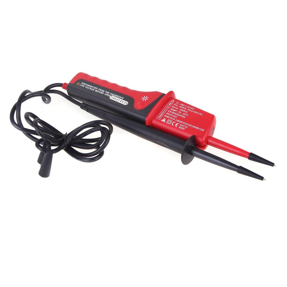 UNI-T UT15C LCD Display Waterproof IP65 Type Voltage Testers voltmeter motorcycle voltimetro voltage meter Tester<br>