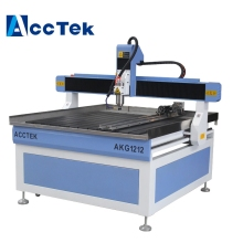 overseas selling ball screw high precision advertising cnc router machine AKG1212(China)
