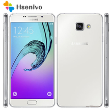 "100% Original Samsung Galaxy A7 A7100 2016 Dual Sim 5.5"" 3300mAh 3GB RAM 16GB ROM 13MP 4G LTE Octa-core Fingerprint Smartphone(China)"