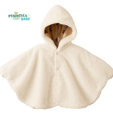 New 2017 Fashion Baby Girl Poncho Cape Outwear Boys Fleece Coats Smocks Cloak Jumpers Mantle Children's Clothing