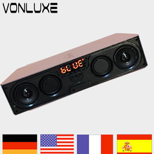 6W Portable Wireless Bluetooth Speaker USB Music Center Car Vibration Speakers For Mobile Phone PC Portail Wireless Altavoz(China)