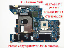 Brand new Original laptop motherboard for Lenovo Z570 motherboard 48.4PA01.021 HM65 PGA989 DDR3 GT540M 2GB Fully tested