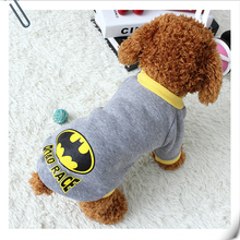 Warm Pet Dog Sweater Clothes Puppy Coat Clothing for Dogs Sweatshirt Cat Vest Superhero Costume Winter Abrigo de Perro 15(China)