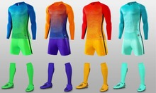 Men long sleeve ssoccer sets men' football jerseys kits adult sports training sutis custom multi color any logo freeshippin(China)