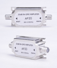 New Arrival Hot Direct Marketing Frequency 950~2150MHz Satellite Signal Booster 20dB Inline Amplifier Divider Wholesale