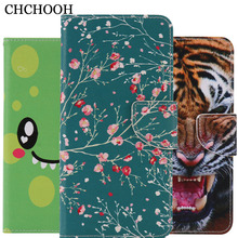 Top Quality Cute Cartoon Print Magnetic PU Leather Cell Phone Case Cover For Apple iPhone 5S 5 5g SE with Wallet Card Slots