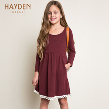 Buy HAYDEN teenage girls dresses 11 years summer spring costumes princess sundress children clothes 12 years teens fashion clothing for $15.56 in AliExpress store