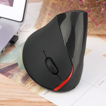1pcs Wireless Ergonomic Vertical Optical USB Mouse 5D Optical Mouse For PC Laptop hot new Drop Shipping