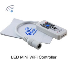 New RGB WiFi Controller DC9V-12V Mini Size Timer / Custom Mode SmartPhone use IOS Android APP for LED Strip Light 5050/3528