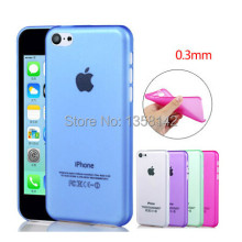 For apple iphone 5c case 0.3mm Ultra Thin Slim PP Protection Cell Phone Cases Cover free shipping