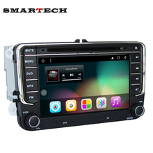 2 Din Android 6.0 VW Car DVD Player For Volkswagen POLO PASSAT EOS Golf Bora CanBus Wifi Google GPS Radio RDS Red Green Button
