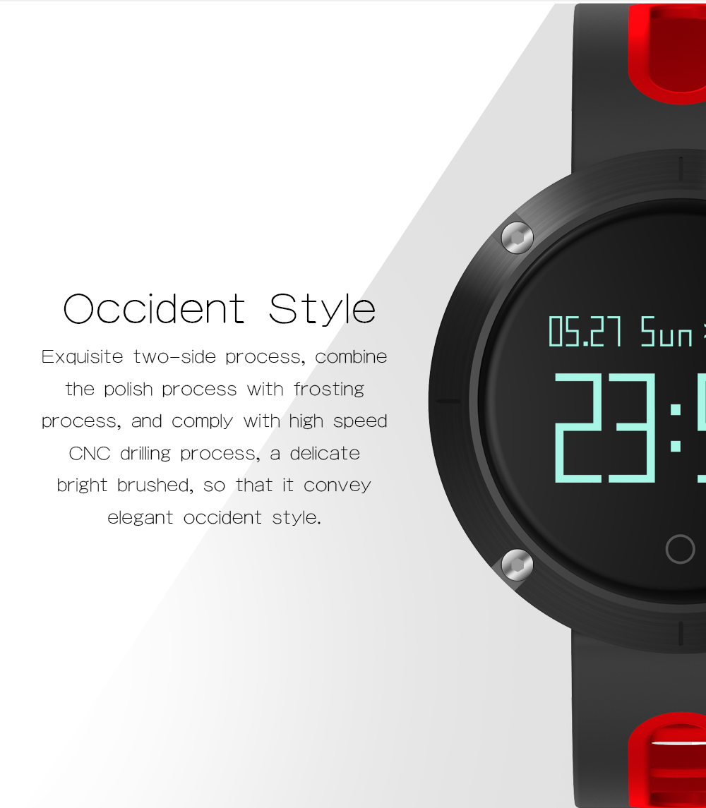 Waterproof Sports Bracelet DM58 Smart Band Heart Rate Blood Pressure Watch Smart Wristband Fitness Tracker for IOS Android C1 4