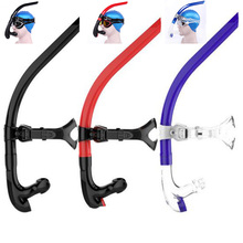 Free shipping High quantity hot sale silicone swimming tube center snorkel SK-300 swimming snorkel for diving(China)