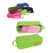 Storage Bags Shoes Travel Waterproof Pouch Admission package Totes Zipper Organizer Bag For Shoe Home necessary