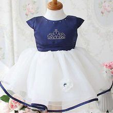 Girls Baby Toddler Children Clothes Dresses Summer Cute Beautiful Ball Crown Pageant Princess Party Wedding Tulle Gown Dress
