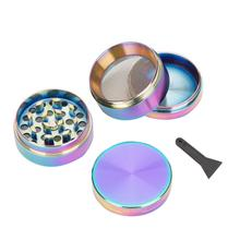 Herb Weed Grinder Tobacco Cigarettes 50mm 4Parts Zinc Alloy Chicha Shihsa Coffee Mill Fantastic for Water Pipe Hookah