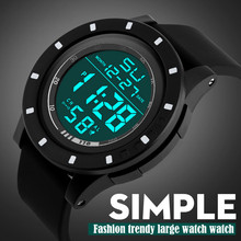 Splendid Men's Fashion LED Digital Touch Screen Day Date Silicone Wrist Watch