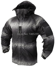 New Premium SouthPlay Men's Waterproof 10,000mm Outerwear Hood Double Closed Camo North Jacket(China)