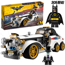New 305Pcs Lepin 07047 Genuine Batman Series The Arctic War Penguin Classic Car Set Building Blocks Bricks Toys With 70911(China)