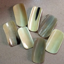 natural yellow buffalo horn face guasha board tool massage slim health care eyes massage African horns scraping tablets