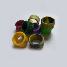 Buy Free 500PCS/lot customized Personalized debossed Swirl vape band,silicone rings promotional gifts SR005 for $90.00 in AliExpress store