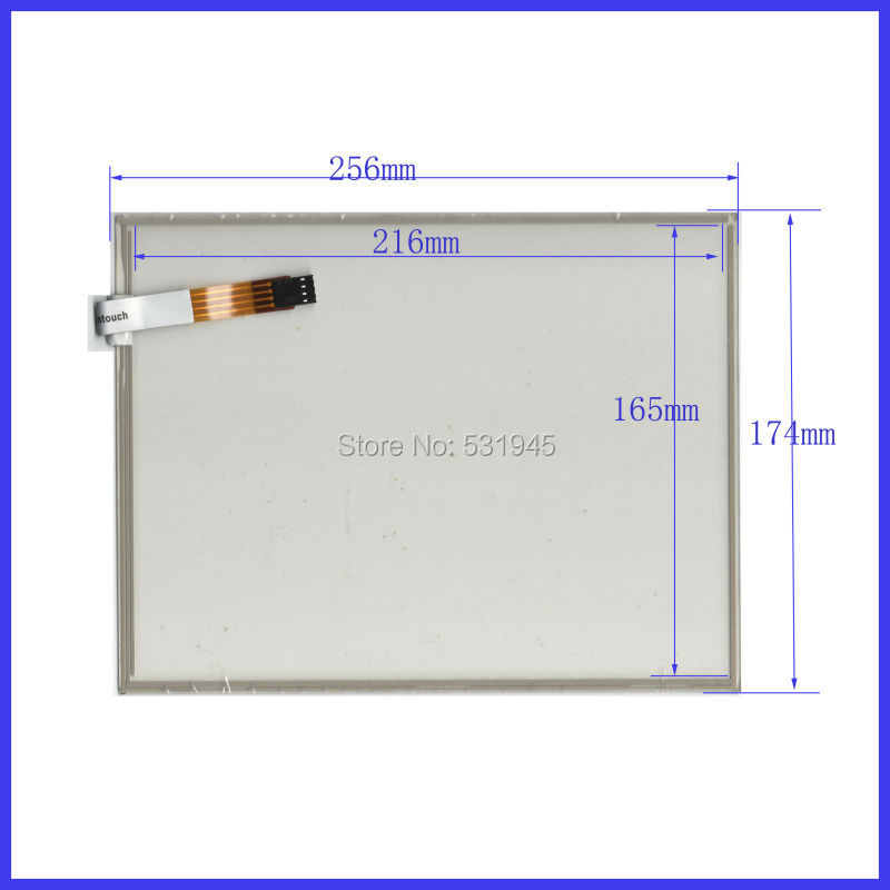 New 10.4 Inch Touch Screen 256mm*174mm   sensor glass 256*174 commercial use  for gps touch on  LCD display<br><br>Aliexpress