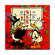 window Alec monopoly Graffiti mr brainwashart print canvas for wall art decoration oil painting wall painting picture No framed