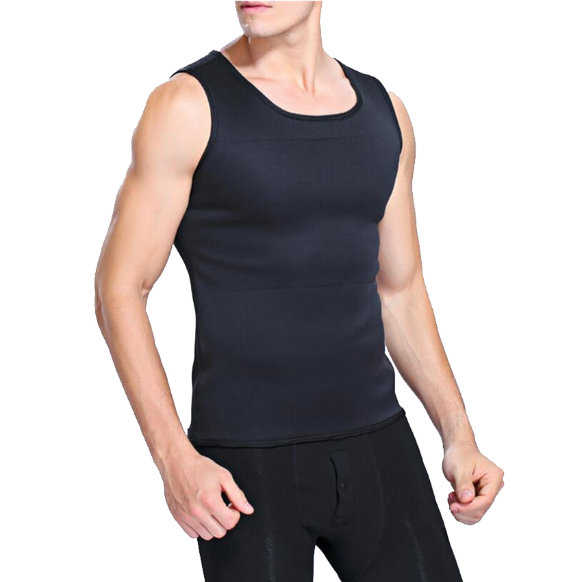 Slimming Belt Belly Men Slimming Vest Body Shaper Neoprene Abdomen Fat Burning Shaperwear Waist Sweat Corset Weight Loss 13
