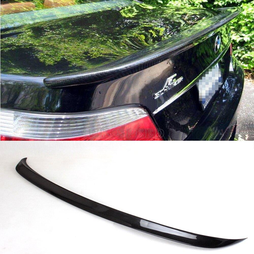 E60 AC style Carbon Fiber Car Rear Trunk Lip Spoiler for BMW E60 528i 535i 550i M5 2004-2010<br><br>Aliexpress