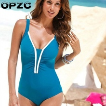 NEW 2017 Hot Design Swimwear Women Bikinis Sexy Conservative Halter Bathing Suit Brazilian Solid color Bikini Swimsuits(China)