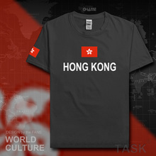 Hong Kong mens t shirts fashion 2017 gyms jerseys nations cotton t-shirt HongKong fitness China clothing tees country flags HK(China)