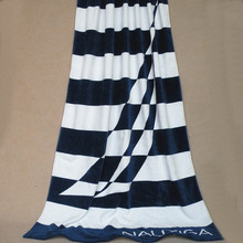 HAKOONA Sails Printed Striped Cotton  Bath Towel  Beach Towels Soft And Quick-Drying  Rectangle  170 x90cm