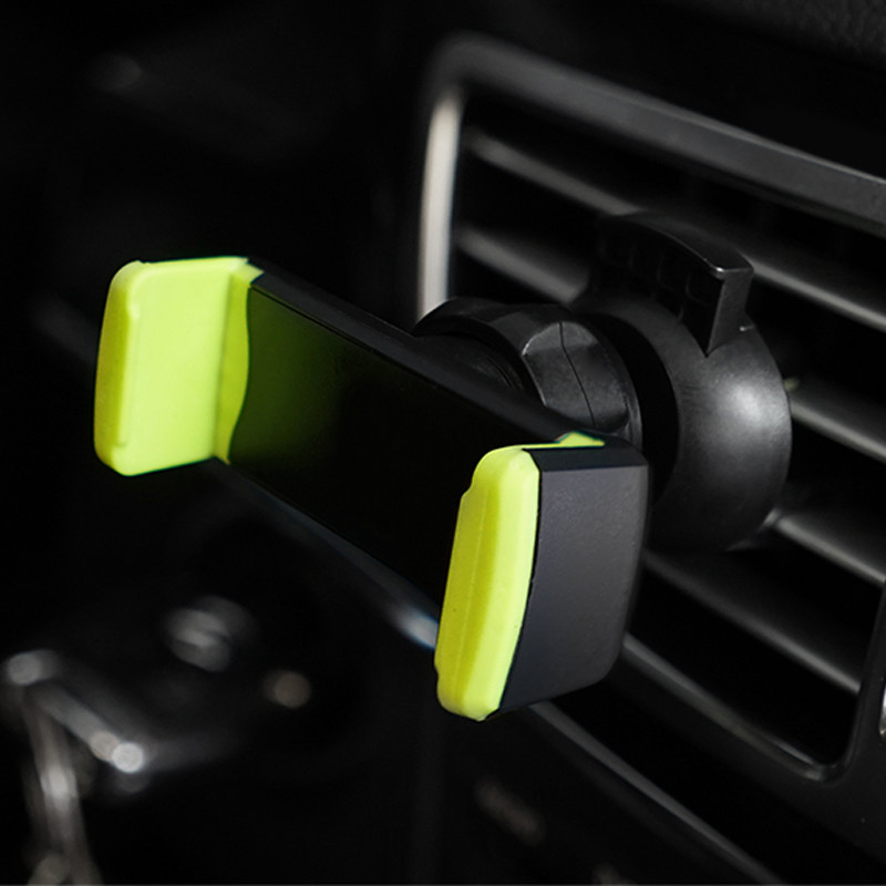 Car Mobile Phone Holder Air Vent Monut Holder Stand Universal 360 Degree Adjustable Car Clip For iPhone X 8 7 5 SE 6 6S Plus (17)