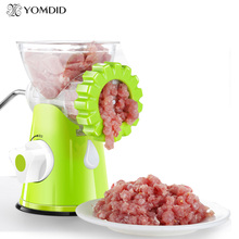 New Design Manual meat grinder Multifunctional Kitchen Tool Pasta Maker Meat grinder Household Kitchen Appliance(China)