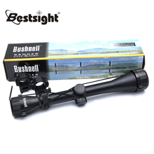 BUSHNELL  3-9X40 Tactical Riflescope Optic Sniper Deer Rifle Scope Hunting Scopes Airgun Rifle Reflex Sight Ottica Per Carabina