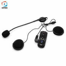 2017 NEW BT-S1 Bluetooth Interphone Motorcycle Helmet Wireless Headset Motorcycle Bluetooth Helmet Stereo Headphone Hand Free(China)