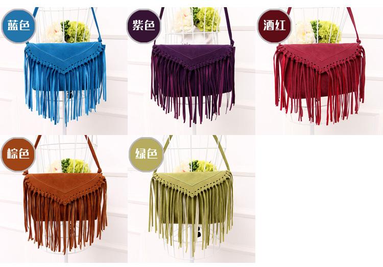 size women bag fringe tassel bags (2)
