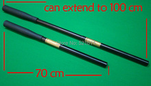 Free shipping cheap snooker cue extension 70cm can extent to 100cm billiard accessories for Snooker cues(China)