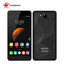 Original OUKITEL C3 5.0 Inch HD Screen Smartphon Android 6.0 MTK6580 Quad-Core Cell Phone 1GB RAM+8GB ROM 2000mAh Mobile Phone