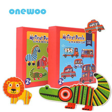 Super Large Puzzle Kid Toys Cartoon Animal Traffic Geometric Cognition Educational Toys Child Intellectual Enlightenment Puzzles(China)