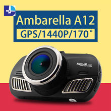 2016 Newest Ambarella A12 Car DVR HD Camera Recorder With  Night Vision G-Sensor GPS Dash Cam Black Box dash cam car dvr full hd