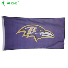 3 x 5 FT American Baltimore Ravens Football Team Flags Memorial Flags And Banner Durable Polyester USA  Flying Flag