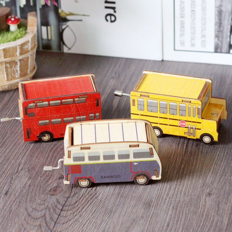 Hand-Ridel-Music-Box-Mini-Bus-Birthday-Gift-Wood-Mechanism-Toy-Musical-Instrument-TC0019 (7)